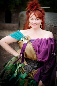 Marika Aubrey as Titania. Image by Blueprint Studios