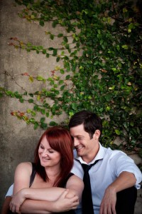 Marika Aubrey and Rob Mills in The Last Five Years. Image by Blueprint Studios