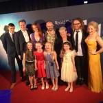 Principal adult cast, producer Louise Withers, playwright Dennis Kelly, composer and lyricist Tim Minchin and the Matildas!