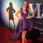 Marika Aubrey (Mrs Wormwood) - Matilda Opening Night Sydney